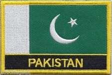 Pakistan Flag Embroidered Patch - Sew or Iron on