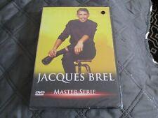 """DVD NEUF """"MASTER SERIE : JACQUES BREL"""" Palmarès des chansons 1966"""