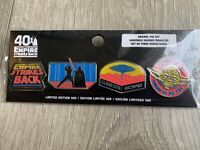 Star Wars Empire Strikes Back ESB 40th Anniversary Pin Set Target Excl. 1/500