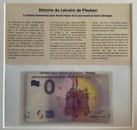BILLET 0  EURO LES PLUS BEAUX CALVAIRES ENCART  FRANCE 2017 NUMERO 100