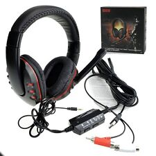 USB Gaming Headset Mic Stereo Headphones Surround for PC PS3 PS4 Xbox ONE 360