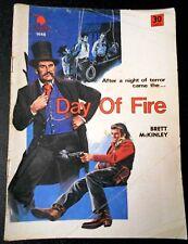 Aust Printing, BRETT McKINLEY - DAY OF FIRE - CLEVELAND WESTERN # 1448