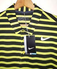 Nike Golf Polo Shirt Mens XL NWT Yellow & Black