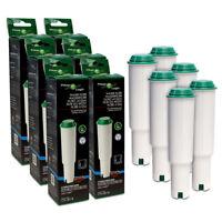 6 x Filterlogic CFL-801B Water Filters Fits Claris WHITE Jura Coffee Machine