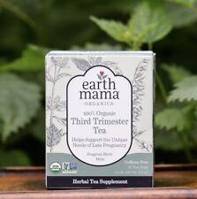 EarthMama Organics Third Trimester Tea 16 Tea Bags NEW