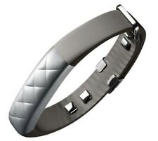 Silver Jawbone UP3 Smart Fitness Tracking Wristband Activity Tracker .
