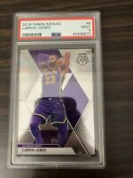 2019 Panini Mosaic LeBron James PSA 9 Mint #8 GOAT LAKERS