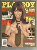 Playboy August 2010 - Crista Flanagan, Cornel West, Michael Cera, Drug War, more