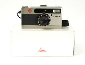 Leica Minilux Titanium Rangefinder 35mm Summarit 2.4/40mm Boxed Point & Shoot