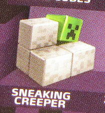 New SNEAKING CREEPER - MINECRAFT Obsidian Series 4 Mini-Figure Single Pack