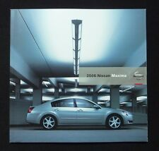 2006 Nissan Maxima Dealer Sales Brochure~Original Dealership Showroom Literature