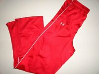 NWT Under Armour BOY'S XL Rival Knit Red Warm-Up Athletic Pant