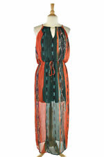 City Triangles Women Dresses Maxi LG Orange Polyester