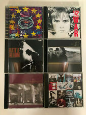 6x CDs - U2 - Joshua Tree War Zooropa Unforgettable Fire Rattle Hum Achtung Baby