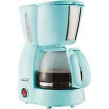 Brentwood Appliances TS-213BL 4-Cup Coffee Maker, 650 watts, BPA-free Blue