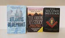 Ancient Civilisation 3 Book Bundle Atlantis Blueprint Orion Mystery Second Mess