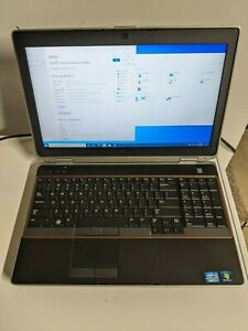 Dell Latitude E6520 Intel i7-2720M 2.9GHz 8GB RAM 500GB SSD W10 Pro