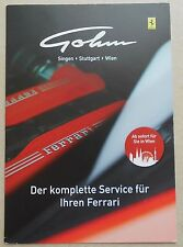 Ferrari Gohm 2017 Service Prospekt Depliant Brochure Folder no book buch press