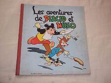"BD ""LES AVENTURES DE PLACID ET MUZO - no 4"" (CIRCA 1955) C. ARNAL / VAILLANT"