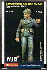 MIG PRODUCTIONS MP 35-117 - SOVIET NAVAL SOLDIER 1941-43 - 1/35 RESIN KIT
