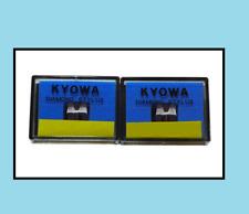 More details for 2 (pair) dj stylus stanton 500a 500al 500e 505sk 520sk turntable needles new