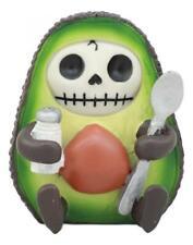 Ebros Gourmet Furrybones Hass Avocado Figurine Small 2.75 Inch Furry Bones.