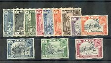Aden, Qu'Aiti State Of Hadhramout Sc 41-52(Sg 41-52)*F-Vf Nh 1963 Set $95