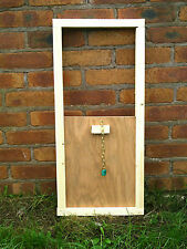 POP HOLE DROP HATCH SLIDING DOOR CHICKEN COOP SHED INCUBATOR EGG..