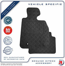 Genuine Hitech LR Freelander 1 Tailored Chequered VS Rubber Car Mats 1997-06