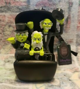Disney Haunted Mansion Hitchhiking Ghost Buggy Ornament Gus Glow In The Dark