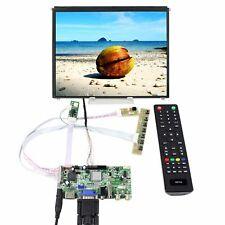 """HDMI VGA AV USB LCD Controller Board 9.7"""" 1024X768 IPS LCD Screen WLED Backlight"""