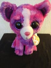 """Ty Beanie Boo Boos DAKOTA the Chihuahua 6"""" MWMT Justice Exclusive FREE Shipping!"""