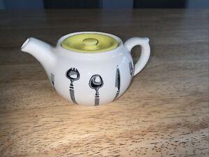 Vintage Mid Century Retro Bristol Long Line England Teapot