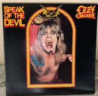 OZZY OSBOURNE- SPEAK OF THE DEVIL 2 LP VINYL JET Records 1982 Used