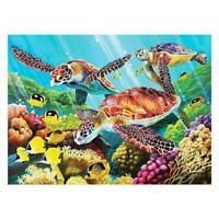 5D Sea Turtles Diamond Painting Embroidery DIY Full Drill Cross Stitch Kits