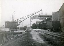 Grues Ports Dragueuses c. 1900 - Lot de 8 Positif Verre 10 x 8 - VL 3