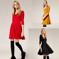 Cotton Blend Short/Mini Shirt Dresses
