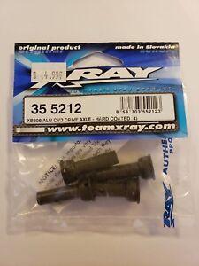 XRAY 35 5212 ALU CVO DRIVE AXLE-HARD COATED RC CAR