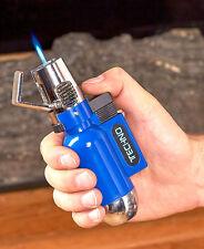 XXL Mega Flip Top Torch Lighter Great For Grills Campfires Wind Resistant -Blue