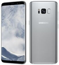 Samsung Galaxy S8 G950u SILVER 64GB 12MP T-Mobile/Metro Pcs/Go Smart Simple Ultr