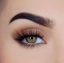 x3 Natural 100% Real 3D Mink Fur False Eyelashes Multilayer Eye Lashes Extension
