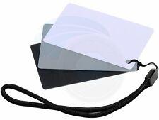 GC-2 3in1 Digital Gray White Black PVC Card White Color Light Balance