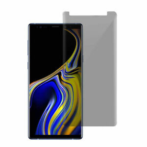 For Samsung Galaxy Note 8 9 S9+ Privacy Anti-Spy Tempered Glass Screen Protector