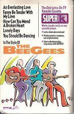 The Bee Gees RCA Super K Karaoke Cassette (1993)