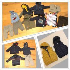 Baby Jungen Bekleidungspaket Gr.74/80 Winter 15Teilen H&M LOGG Vertbaudet BabGap