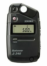 Sekonic i-346 JJ10 Illuminometer camera Lighting & Studio Light Meter New F/S
