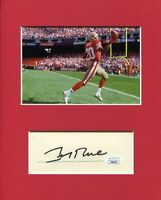 Jerry Rice San Francisco 49ers HOF Signed Autograph Photo Display JSA