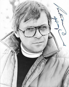 """ANTHONY HOPKINS in A CHANGE OF SEASONS (1980) Hand-signed 10"""" x 8"""" portrait"""