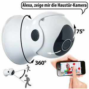 7links Pan-Tilt-IP-Überwachungskamera mit Full HD, WLAN, App, 360°, IP66