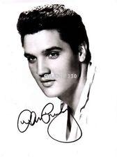 Celebrity Pictures - Elvis Presley Signed Charcoal